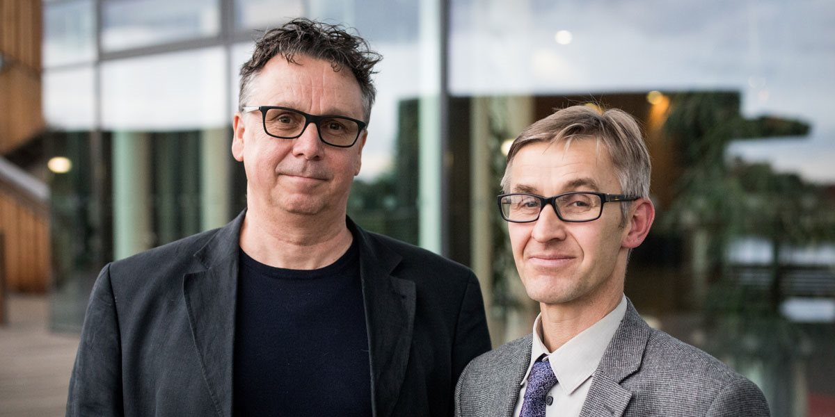 Professor David Ekers and Professor Simon Gilbody