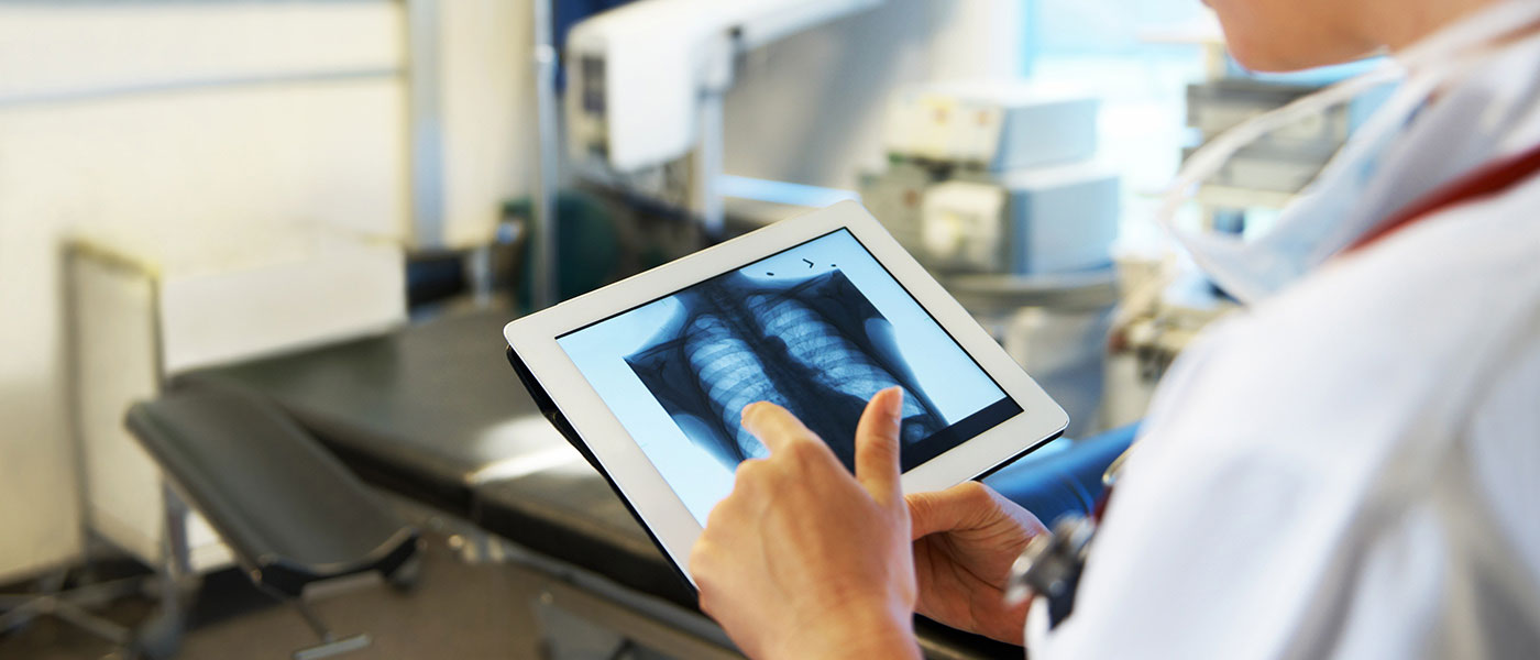 Tablet and Xray