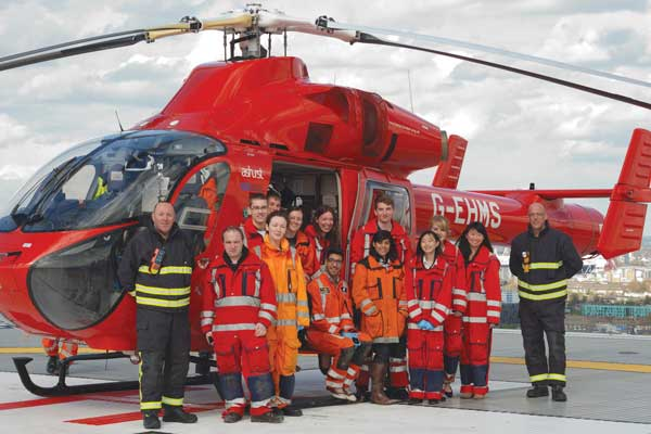HYMS pre-hospital care programme