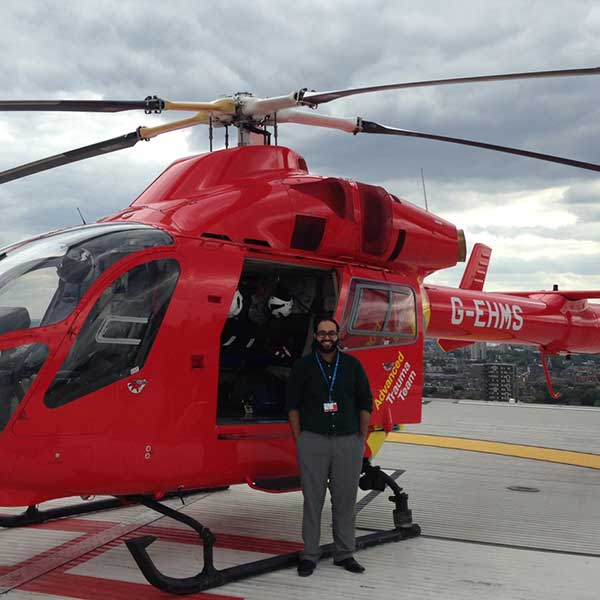 Omar Hussain - Air Ambulance